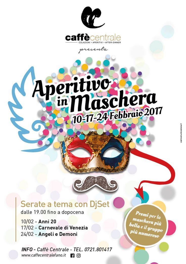 """Al Caffè Centrale l'atmosfera del Carnevale di Venezia, Continuano i festeggiamenti in occasione del Carnevale al Caffè Centrale di Fano che organizza l'iniziativa """"Aperitivo in maschera"""" nei venerdì che precedo"""