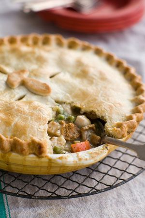 Turkey and Mushroom Pie!