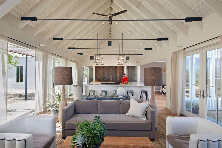 Healdsburg Residence - contemporary - living room - san francisco - Nick Noyes Architecture
