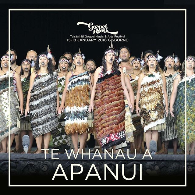 Gospel Roots Festival - Kapa Haka Lineup 2016 8th Announcement Tickets available now - http://bit.ly/1O3ZVGj ******* Founded in 1986, Te Kapa Haka o Te Whānau a Apanui are without a doubt one of the premier haka teams in the world today.   Current reigning champions of the Te Matatini National Kapa Haka Festival #gospelroots