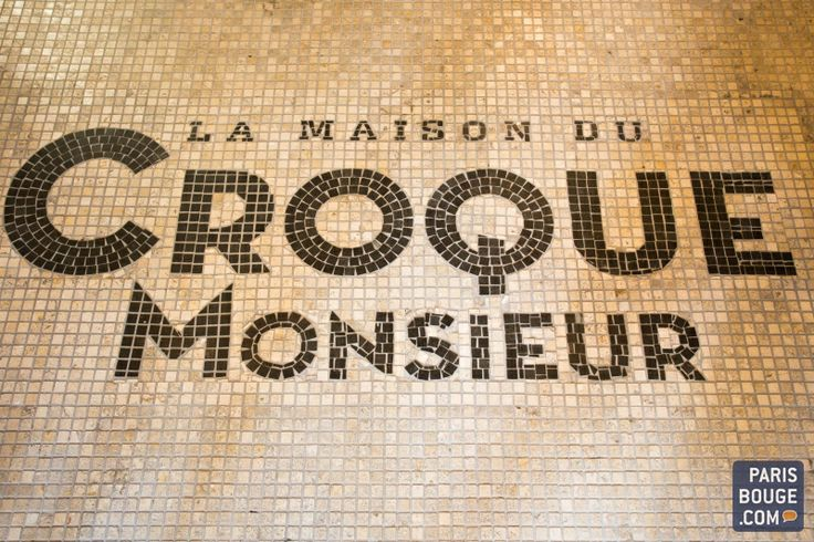 La Maison du Croque Monsieur, nouvelle adresse vers Montparnasse. Crédits photos : Alexia Farry / ParisBouge.com.