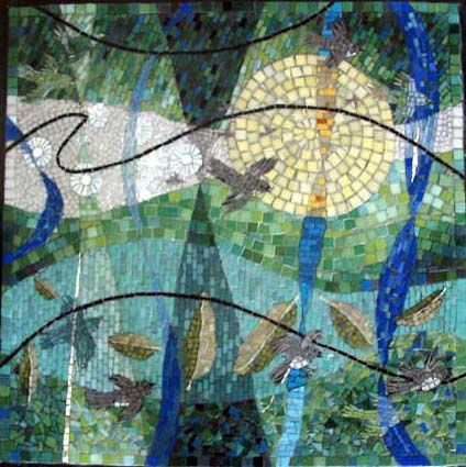 95 Best Images About Art Mosaics Nature Theme On