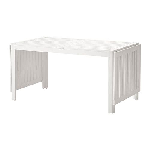ÄPPLARÖ Drop-leaf table IKEA The drop-leaves can be folded and removed, so you can quickly adjust the table size according to your needs.