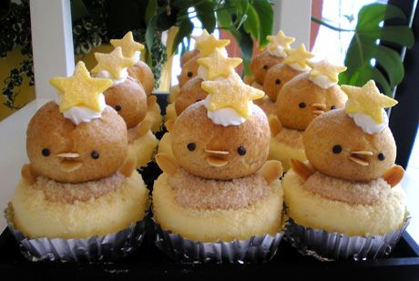 Petit a Petit : チーズケーキ「ひよこのマーチ」七夕バージョン