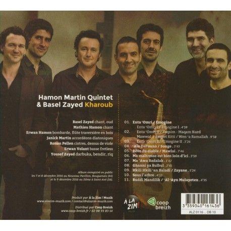 Hamon Martin Quintet et Basel Yased - Kharoub