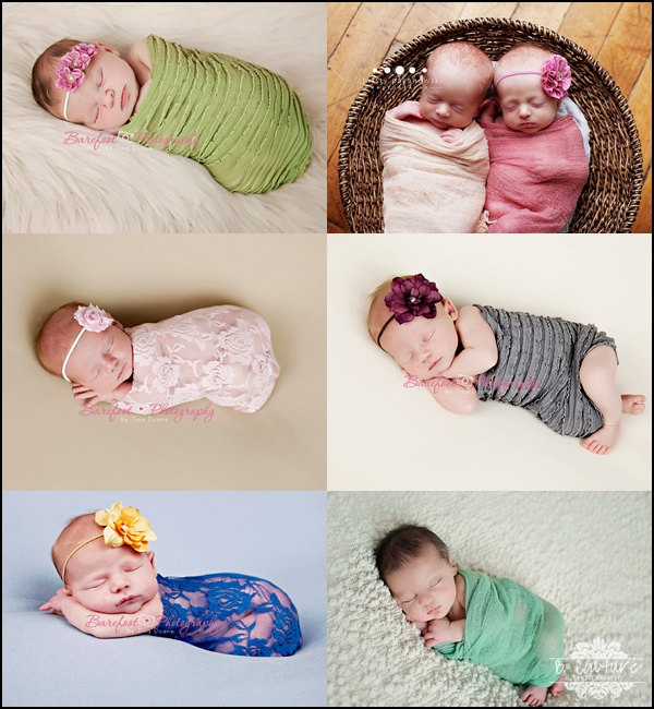 Mix n match any 3 wraps package newborn baby wrap stretchy fabric wraps photo props newborns lace wrap fabric wrap baby boy props