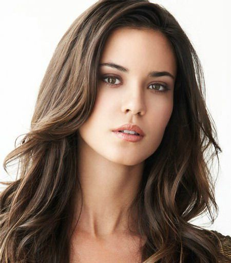 Odette Annable as Ana Steele (with blue contacts, of course)