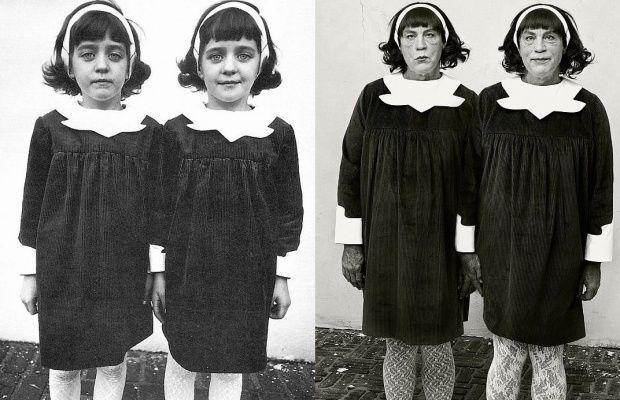 Diane Arbus: Identical Twins, Roselle