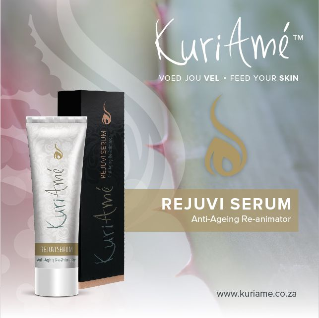 REJUVI SERUM * Anti-ageing * Re Animator * Rejuvi Serum is a uniquely formulated anti-ageing moisturising serum that renews your skin's appearance, making it feel softer, smoother and more supple than before. It contains extracts of Aloe Vera, Licorice, Stevia and Apricot which allow for deeper penetration of the skin to reduce the appearance of age spots and to help prevent hyper-pigmentation. The result is retored, re-animated skin. Find out more about our amazing products here…