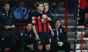 Harry Arter and Eddie Howe, Arter playing just two days after the death of his stillborn daughter.