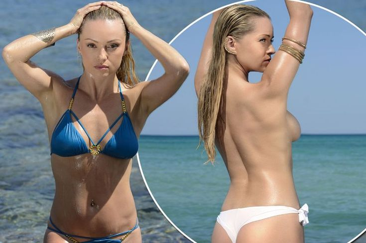 Ola Jordan strips off for what could be her most x-rated calendar yet as she poses in nothing but a white thong - Mirror Online