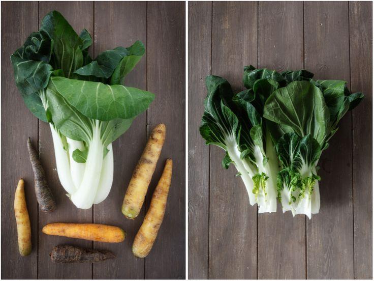 Pak Choi mit Möhren | food-vegetarisch.de