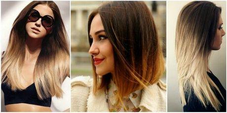 Twee kleuren haar verven