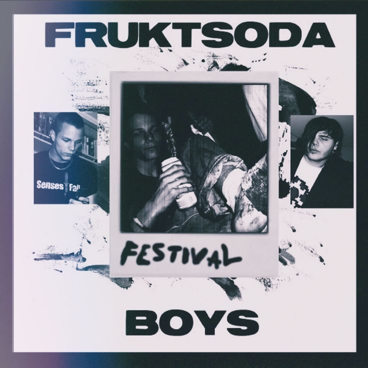 "Albumcover (Front) for ""Fruktsoda Boys - Festival!"" released in 2007"