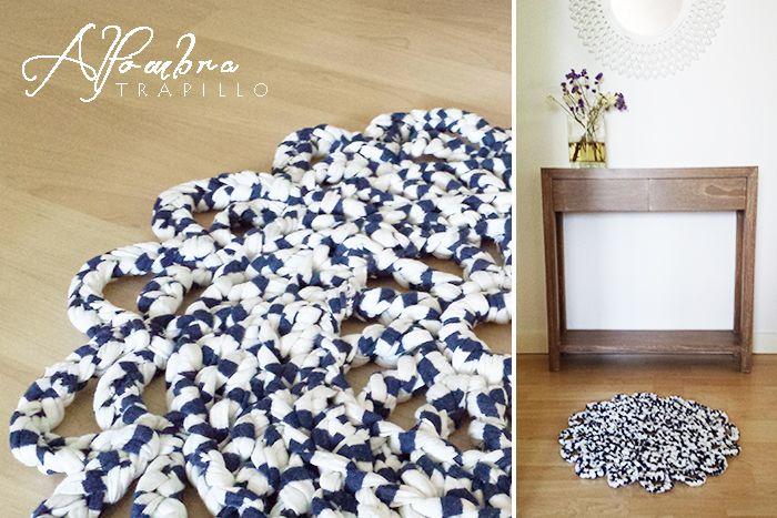The 25 best como hacer una alfombra ideas on pinterest - Como hacer trapillo ...