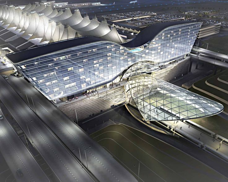 Westin Denver International Airport | Projects | Gensler #Architecture #Transportation #Airport
