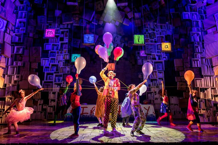 Current cast 2016-2017 - Matilda The Musical London