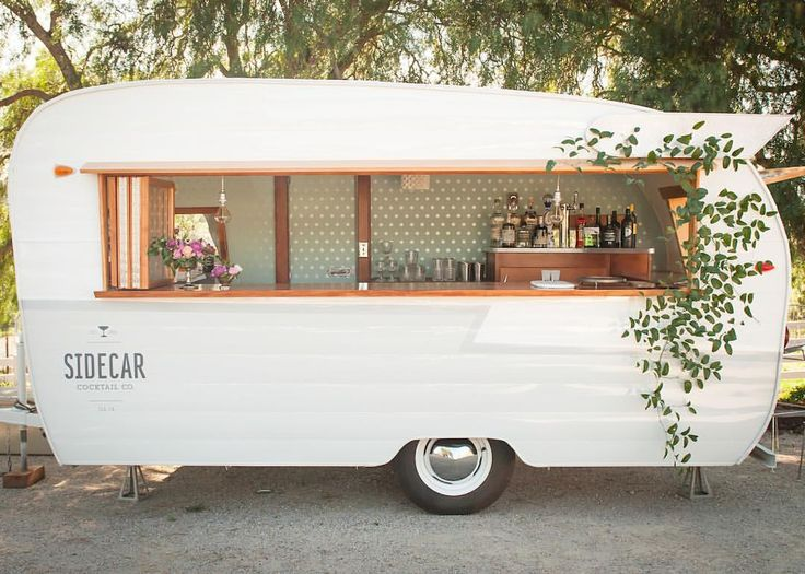 I'd want to make this an ice cream trailer. :)