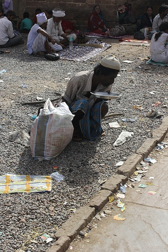 beggars on the street essay
