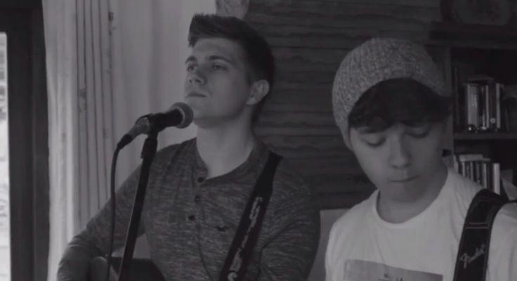 Felix and Stephen 😊