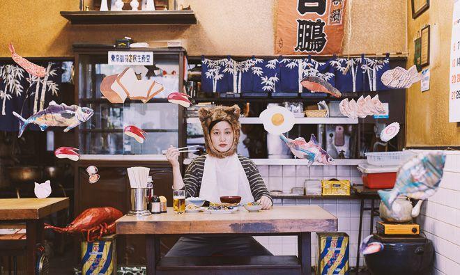 平成生まれのフードエッセイスト平野紗季子、伊勢丹で企画展「(食べれない)フード天国」開催   Fashionsnap.com