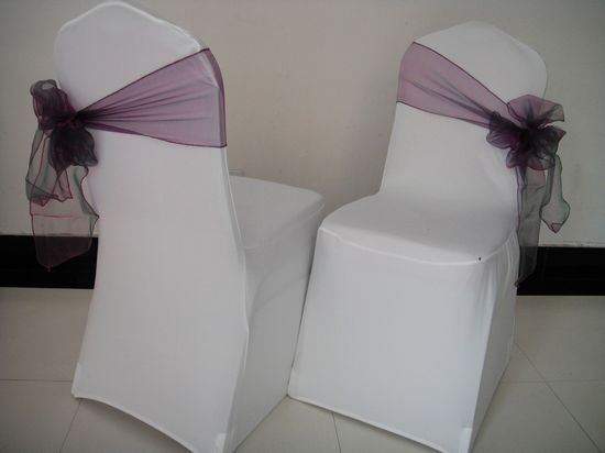 A different way to tie chair sashes