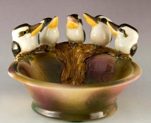 Anita Reay- kookaburra pin dish