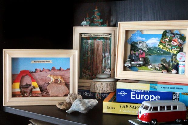 I think it's prettynormalto collecttreasures and souvenirs whileon vacation. I stillcome home with pockets of shells, rocks and twigs after hikes and beach visits. But what do you do with...