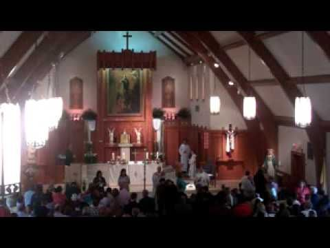 I Am the Bread of Life (combined music ministry) Easter Sunday 033113AD - YouTube