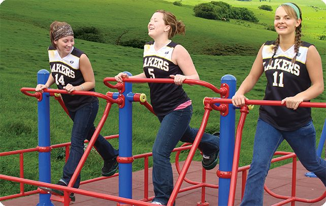 GreenGym Outdoor Fitness Equipment