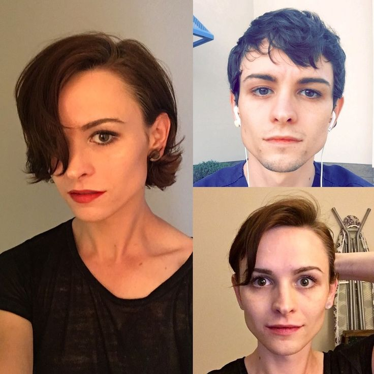 """@emm_d_kay on Reddit: """"What hormones haven't done, makeup helps with. 26. 7 mos HRT."""""""