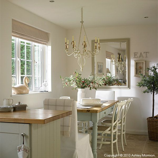 Lovely open plan dining kitchen...