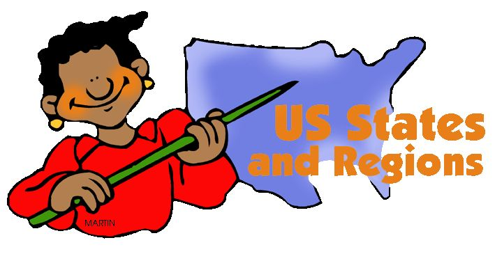 50 US States - Free Lesson Plans, Presentations, Activities, Games, Learning Modules for Kids