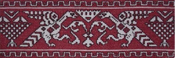 """Assisi borduurwerk """"adelaars"""""""