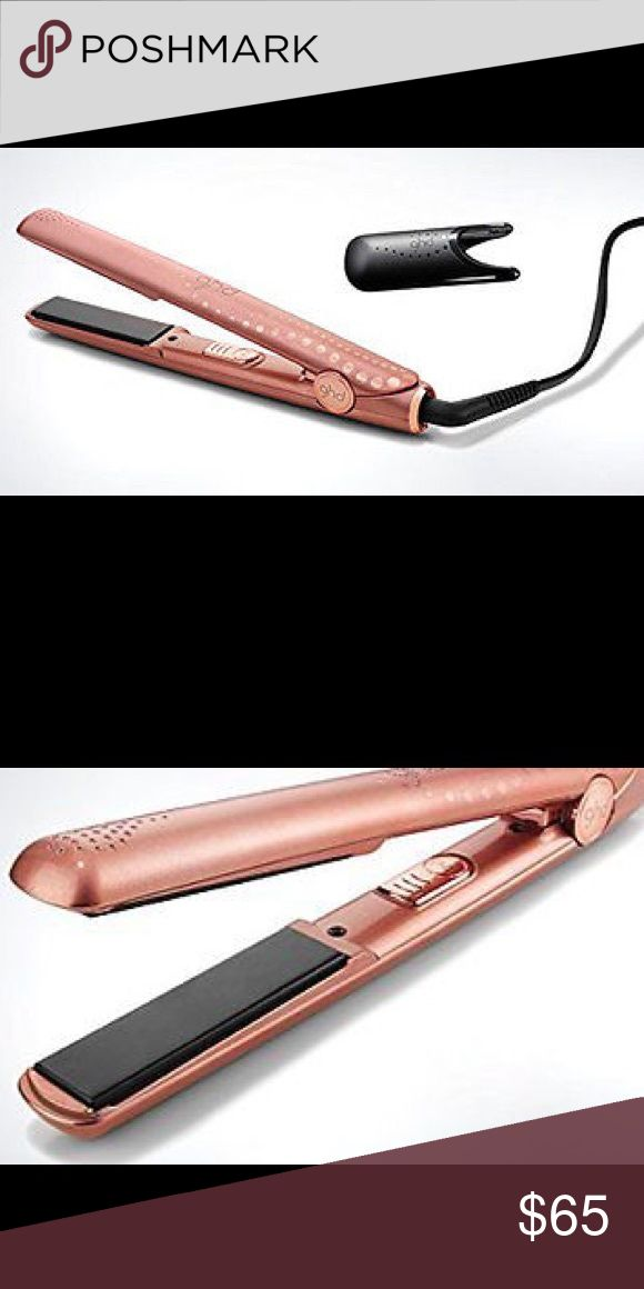 "GHD 1"" Rose Gold Straightener Flat Iron Styler May have tiny scratches from bulk storage but nothing major at all. Works perfectly fine and looks hot. Comes with the heat guard but doesn't ship in original retail box. Has the hologram sticker with serial # so you can verify authenticity on ghd.com ghd Accessories Hair Accessories"