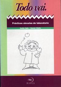"""""""Todo vai. Prácticas sinxelas de laboratorio"""" de Emilio Vallo e Ramón Villalta, publicado en Baía."""