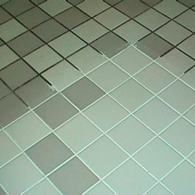 Photo: Green Spring Cleaning Recipe for the Grout :) 7 cups water, 1/2 cup baking soda, 1/3 cup lemon juice and 1/4 cup vinegar - throw in a spray bottle and spray your floor, let it sit for a minute or two... then scrub :)