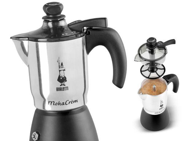 Bialetti Moka Crem - great stove top espresso maker! Espresso with a flair