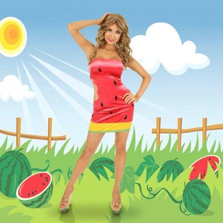 Womens Sexy Watermelon Costume