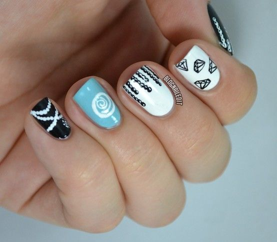 Nail Designs Jewels Nail Art Designs