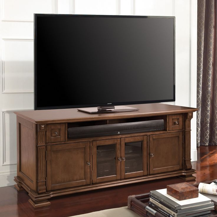 sharp tv stand. this traditional home entertainment wood cabinet features a combination of and dark tinted tempered safety sharp tv stand