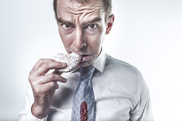 Binge eating is = emotional eating = impulsive eating = uncontrollable eating. Binge eating is simply eating too much food. Way too much than you need to satisfy your hunger. And it's number one reason for being overweight. People often binge eat to deal with stress, disappointment, fear, loneliness, boredom, anger or any other negative emotions.