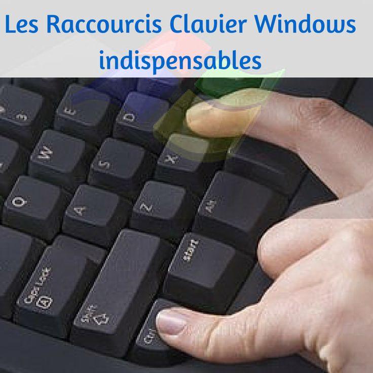 Windows : les raccourcis clavier indispensables.
