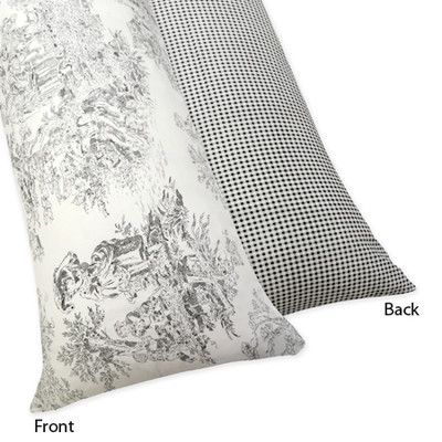 Sweet Jojo Designs French Toile Body Pillowcase & Reviews | Wayfair.ca