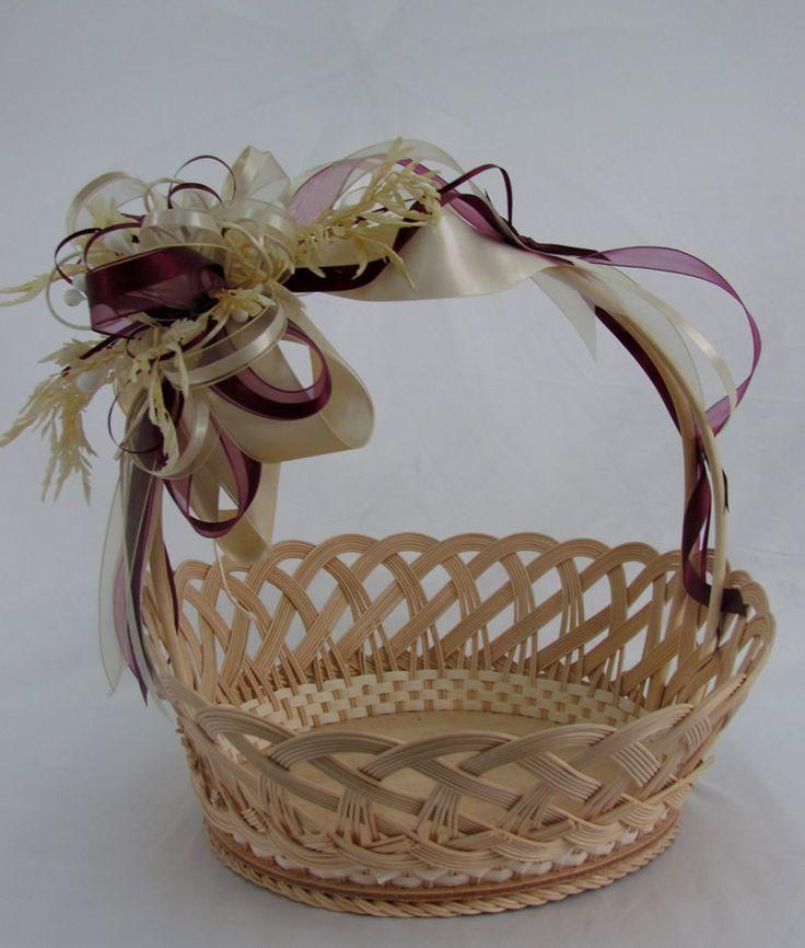 M s de 25 ideas incre bles sobre canastas para boda en - Canastas de mimbre decoradas ...