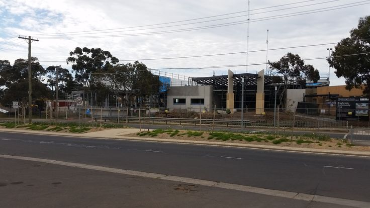 Braybrook New Library Construction Update Photo 17.10.2014