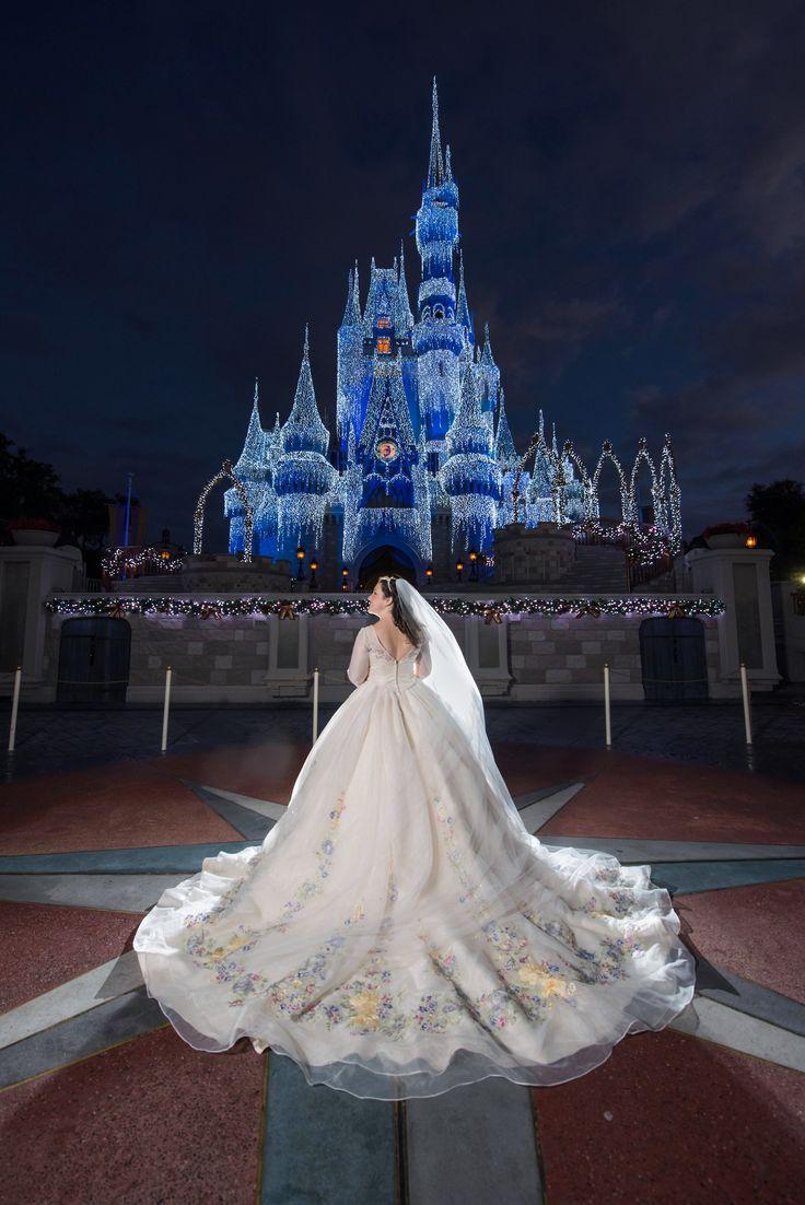Cinderella inspired wedding dress   best FAIRYTALE