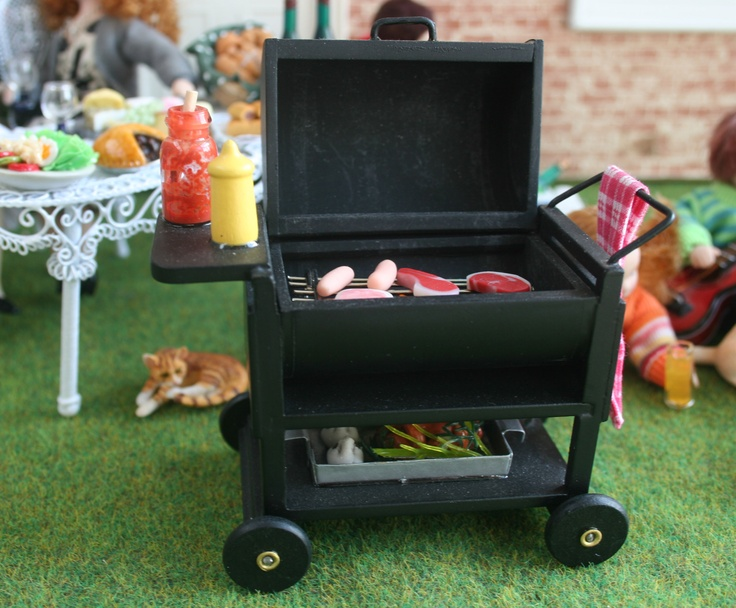 homemade barbie furniture ideas. Idea For Diy Dolls House BBQ. M85. No Tutorial, Just A Picture. Homemade Barbie Furniture Ideas P