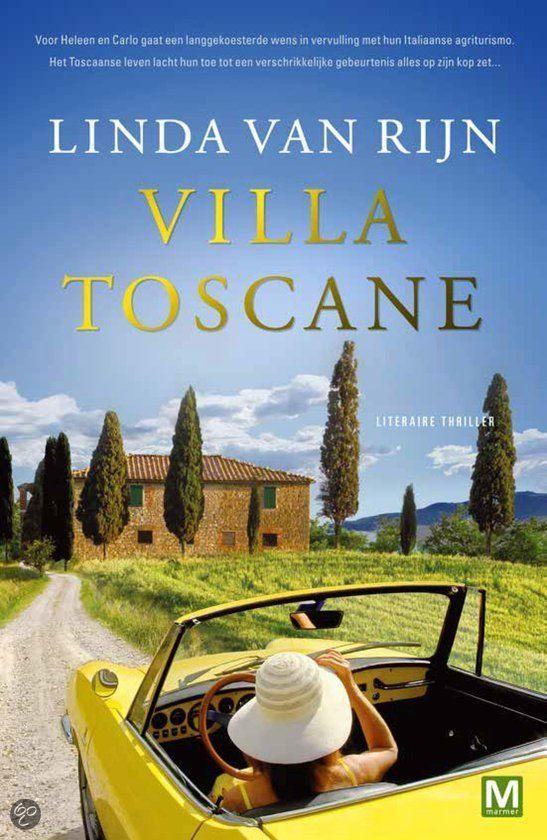 bol.com | Villa toscane, Linda van Rijn | 9789460681677 | Boeken