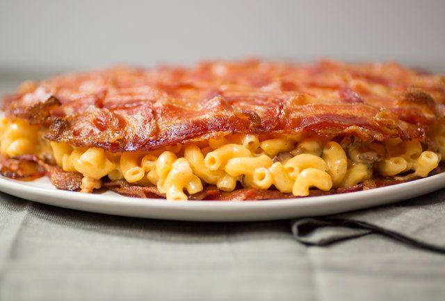 The bacon mac 'n' cheese quesadilla breaks so many rules